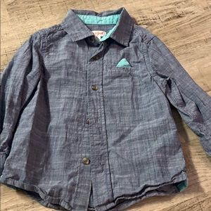 Toddler button down